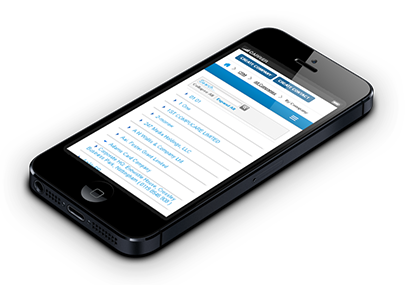 iphone crm web app